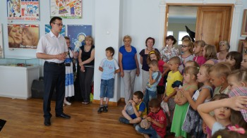 Открытие выставки «Образ детства» 6 июня 2013 г.