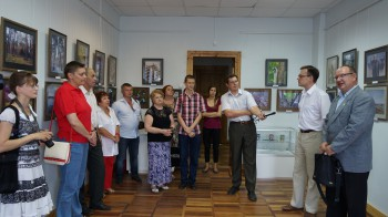 Открытие фотовыставки «Орловское Полесье. Взгляд изнутри» 5 июня 2013г.