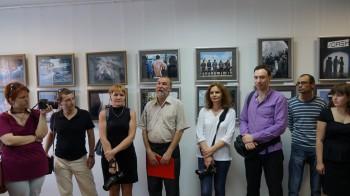 Открытие фотовыставки работ студентов факультета фотожурналистики МГУ 15 мая 2013 г.