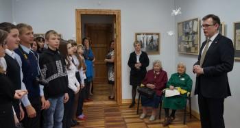 Открытие выставки «Письма с фронта» 30 апреля 2013 г.