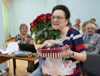 Торжественное заседание, посвященное юбилею А.В. Гольцовой