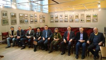 Выставка Орловского краеведческого музея в Центральном совете ВООПИиК в Москве