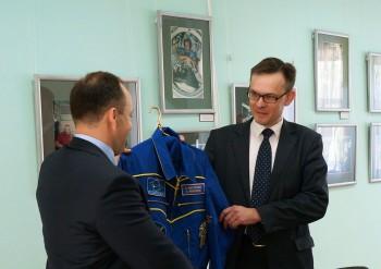 Встреча с космонавтом Александром Мисуркиным