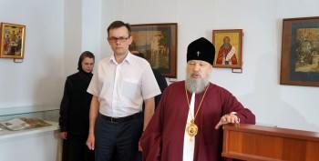 Открытие выставки «Игумен земли русской»