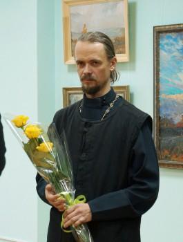 Открытие персональной выставки протоиерея Алексея Комова