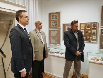 Открытие выставки  «Страницы военной истории Орловского края»