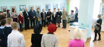 Открытие выставки «Дети галактики», посвященной Дню космонавтики