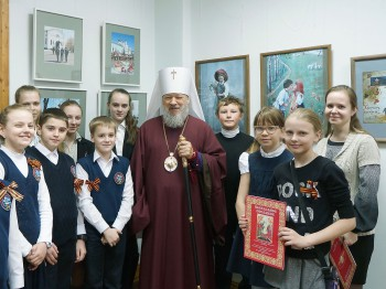 Открытие выставки «Пасхальный перезвон»