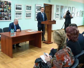 Открытие выставки «Лица войны»