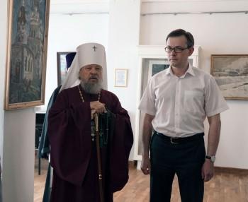 Открытие выставки «Храмы Орла и Болхова в живописи и графике»