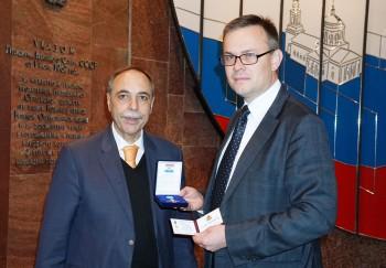 Чрезвычайный и Полномочный Посол Республики Болгария  в Российской Федерации Бойко Коцев посетил Военно-исторический музей