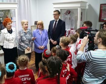 Открытие выставки «Тренер победителей»