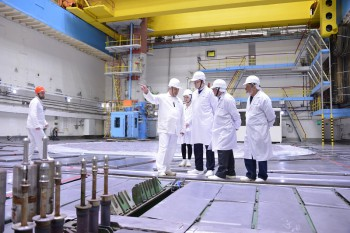 Делегация Орловского краеведческого музея посетила Курскую атомную электростанцию