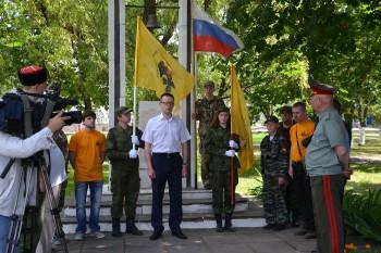 Митинг, посвященный 100-летию Брусиловского прорыва