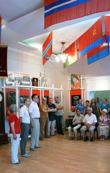 Открытие зала «ХХ век в лицах, символах и артефактах»  постоянной экспозиции музея