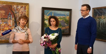 Открытие персональной выставки Юлии Бородиной