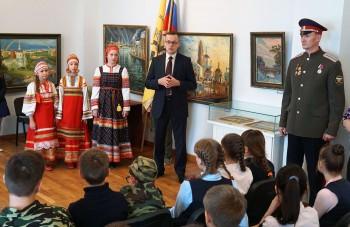 Всероссийская ежегодная акция «День в музее для российских кадет»