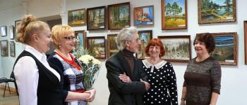 Открытие выставки «У искусства нет возраста»