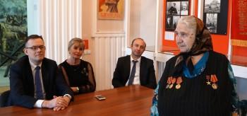 Встреча с Героем Социалистического Труда Еленой Павловой