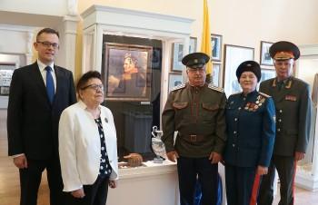 Открытие экспозиции, посвященной генералу Алексею Ермолову