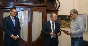Сотрудники музея награждены Почетными грамотами Губернатора Орловской области