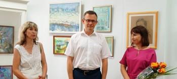 Персональная выставка живописи и графики Юлии Лариной