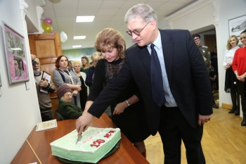 Открытие выставки, посвященной 120-летнему юбилею Орловского краеведческого музея