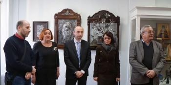 Открытие выставки «Зимняя выставка Артели православных художников»