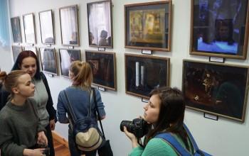 Открытие выставки Людмилы Домарацкой «Все вещи ждут прикосновенья»
