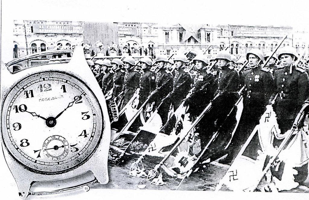 Часы «Победа». Фонды Орловского краеведческого музея