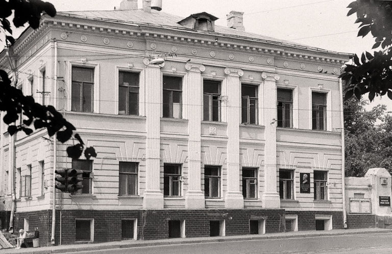 Дом Телешова на Покровском бульваре