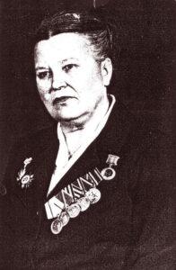 Портрет Лидии Афанасьевой. Фонды Орловского краеведческого музея