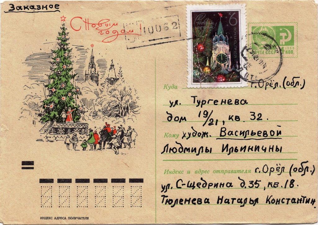 Советские открытки. Фонды Орловского краеведческого музея