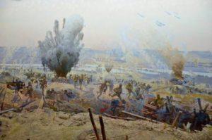 Фрагмент диорамы «Орловская наступательная операция»
