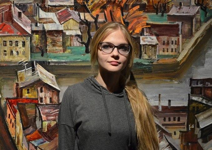 Открытие выставки «Интерпретация» Просёлковой Екатерины