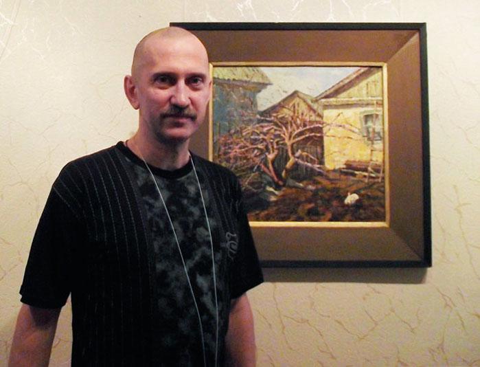 выставка ливенского художника А.В. Блохина «Орловский причал»