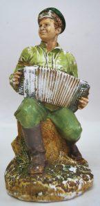 Скульптура «Иван Бровкин на целине». Фонды Орловского краеведческого музея