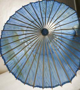 Антикварный летний зонт. Фонды Орловского краеведческого музея